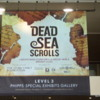 Poster for the Dead Sea Scrolls exhibit, Denver Museum of Nature and Science