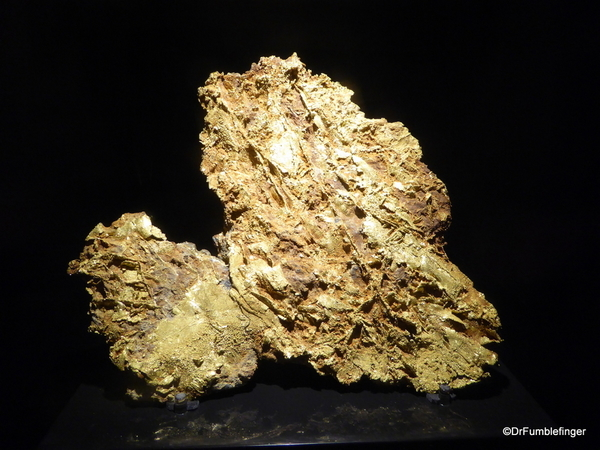 34 Denver Museum of Nature and ScienceColorado's largest piece of gold(74)