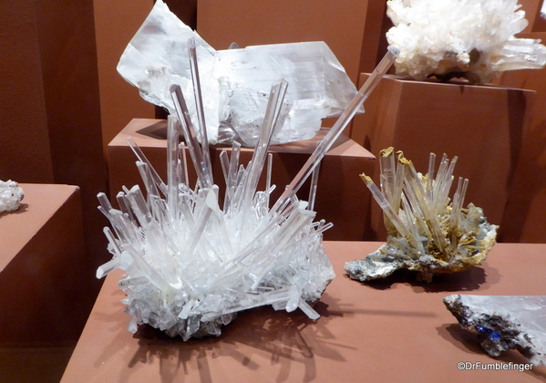 35 Denver Museum of Nature and Science. Gypsum