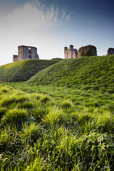 Helmsley castle and earthworks