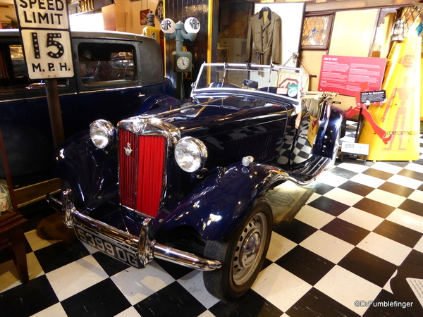 08 Cotswold Motoring Museum and Toy Collection MG TD 1950