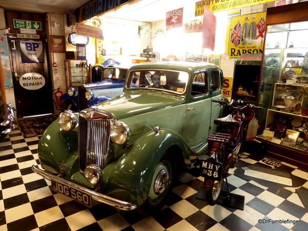 09 Cotswold Motoring Museum and Toy Collection. MG Y 1950