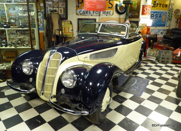 11 Cotswold Motoring Museum and Toy Collection. BMW 327 1938