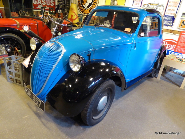 16 Cotswold Motoring Museum and Toy Collection. Fiat 500 Topolino 1938