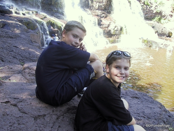 Gooseberry Falls Bryan & Evan