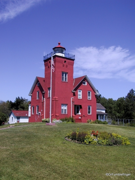 Twin Harbors lighthouse