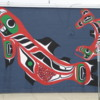 Wall mural, Whitehorse