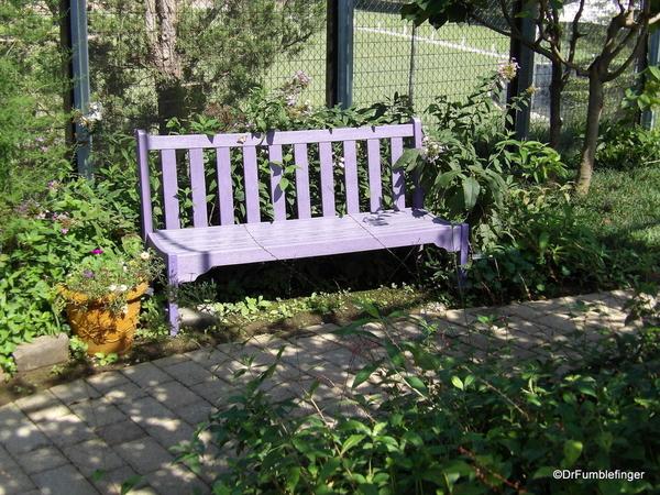 Butterfly Garden Bench