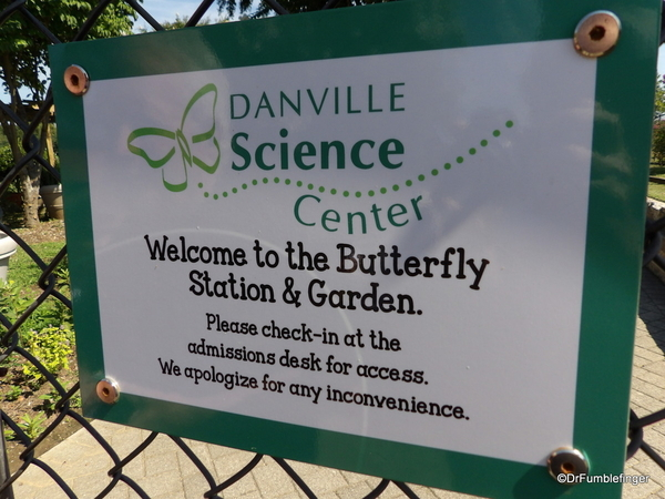 Butterfly Garden Signage