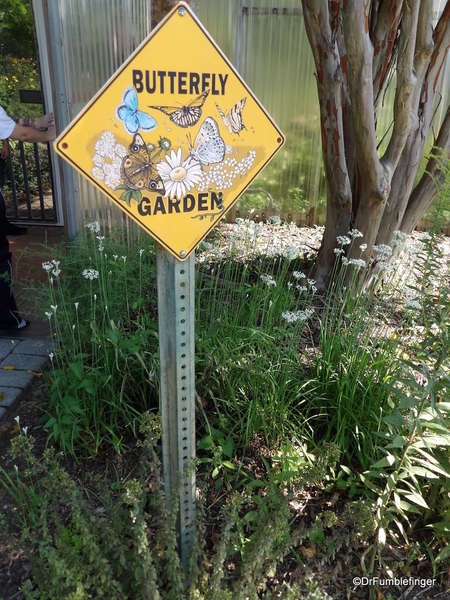 Butterfly Signage 2
