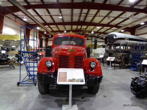 26 Yukon Transporation Museum. REO Gold Comet Truck, 1949