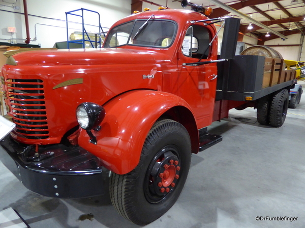 28 Yukon Transporation Museum. REO Gold Comet Truck, 1949