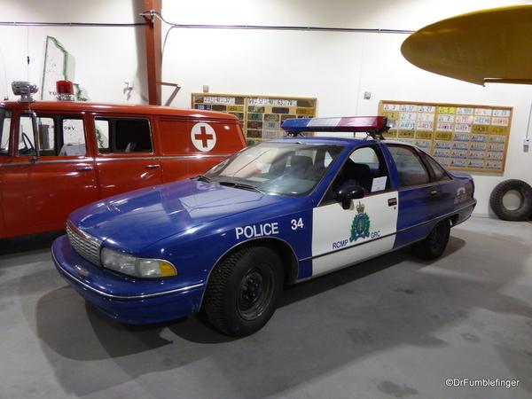 33 Yukon Transporation Museum. 1992 Chevy Caprice