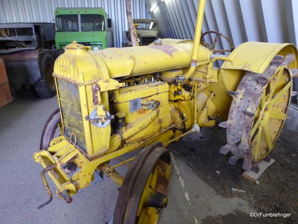 44 Yukon Transporation Museum. 1938 Fordson Model M