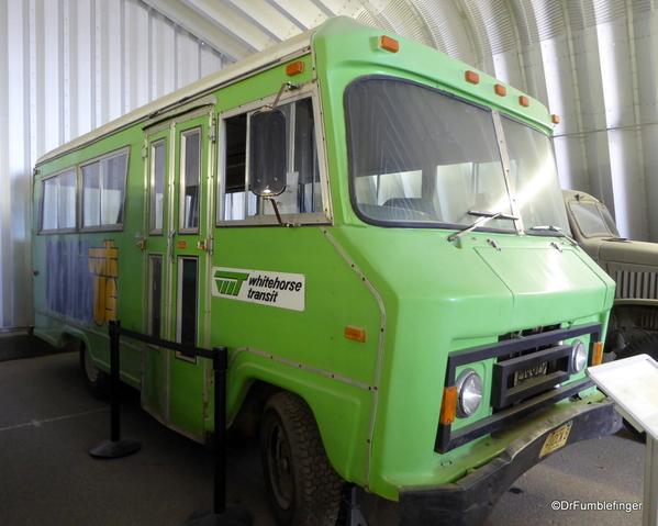 46 Yukon Transporation Museum. City of Whitehorse Passenger Mini-bus