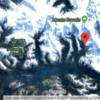 Map showing location of Pia Glacier