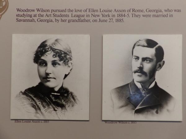 Ellen and Woodrow 1885