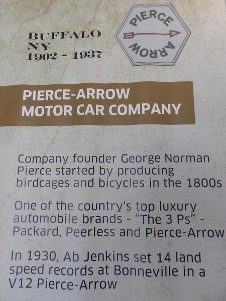 Pierce Arrow Signage