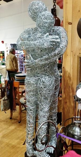 06 wire sculpture a mano