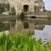 Gatehouse and moat.