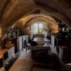 Vaulted Kitchen.