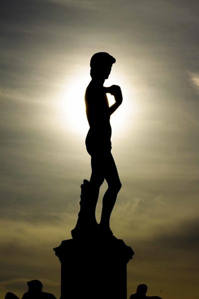david silhouette