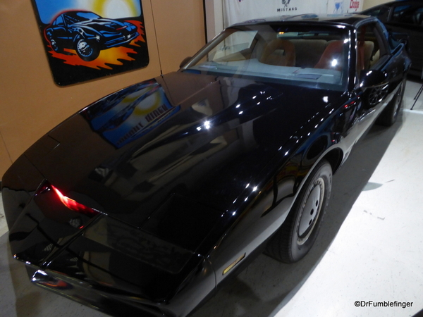 06 Celebrity Car Museum, Branson (14) Kitt Car from Night Rider