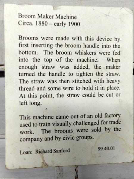 Broom Maker Note