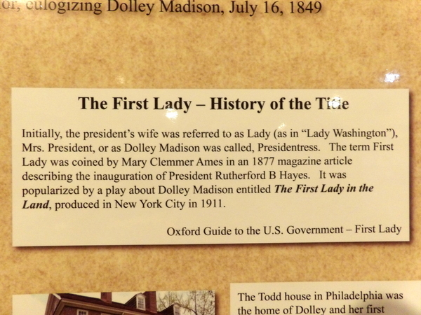 First Lady Title