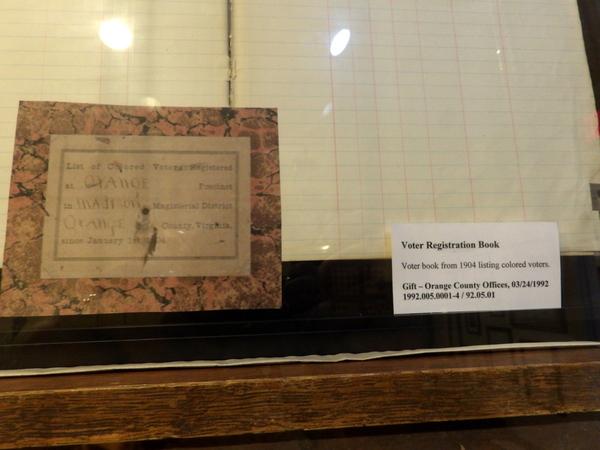 Voter Registration 1904