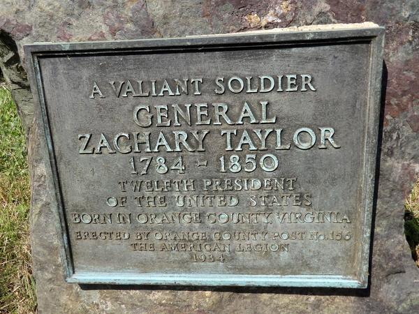 Zachery Taylor Signage