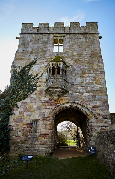 The Marmion Tower. West Tanfield.