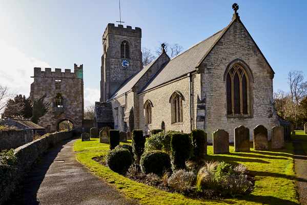 St Nicholas Church and Marmion Tower.