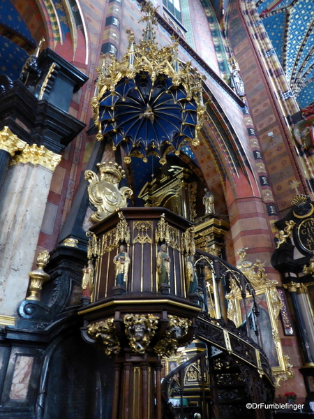 20 St. Mary's Basilica, Krakow