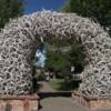 Town square, Jackson, Wyoming