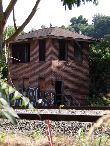 Abandoned RR Bldg