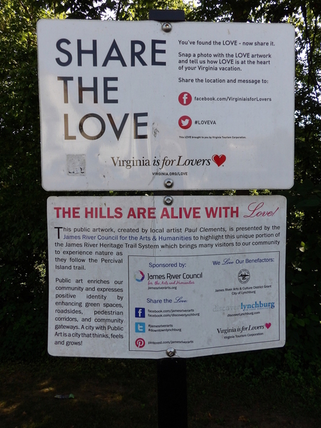 Share The Love Signage