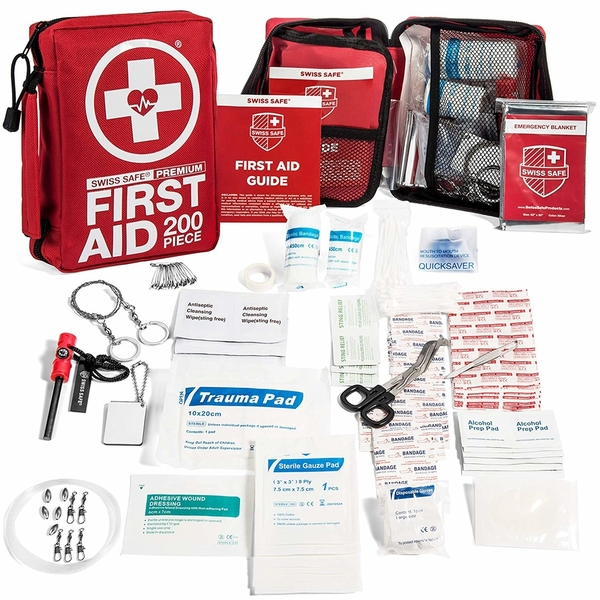 Keep a first aid kit