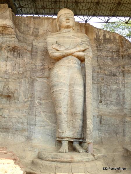 13 Gal Vihara Standing statue