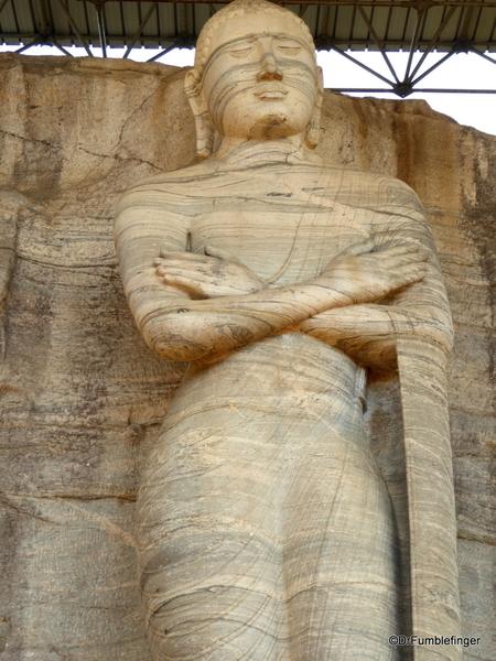 15 Gal Vihara Standing statue
