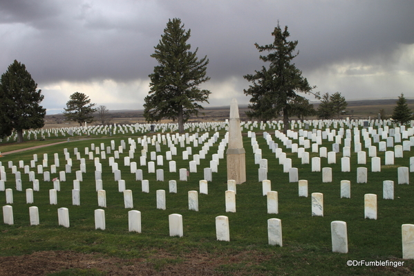 Custer National Cemetery, Little Bighorn Battlefield National Monument