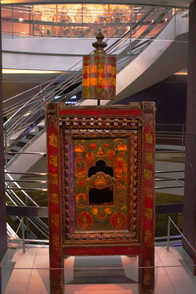 prayer wheel tibet