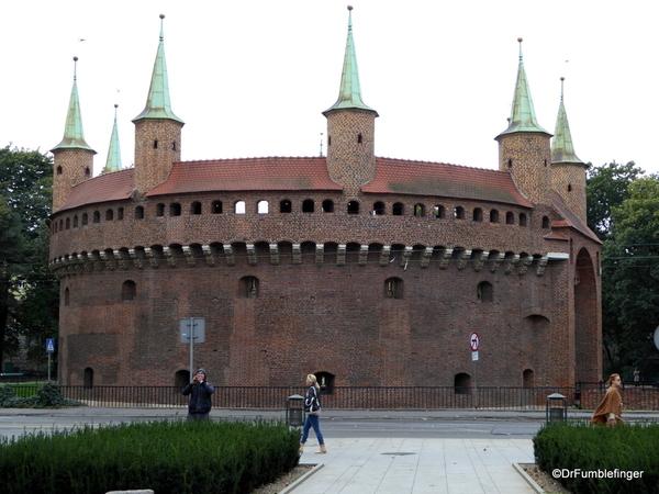 01 Barbican, Krakow