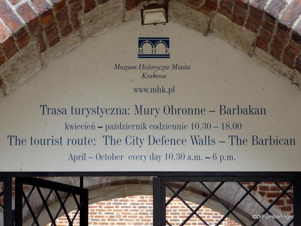 04 Barbican, Krakow