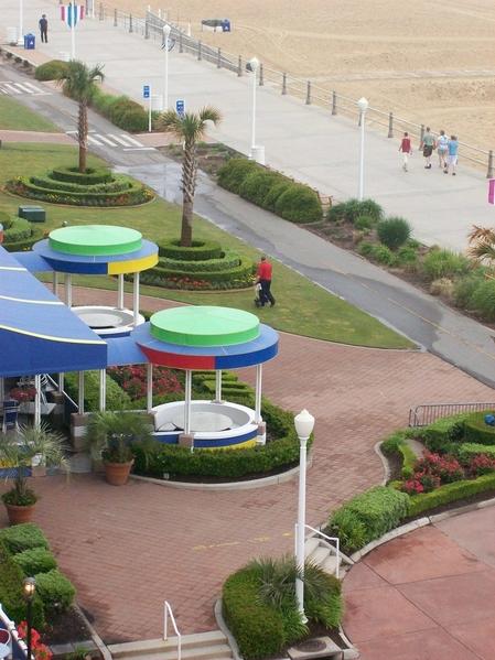 Boardwalk Beach Balcony View