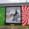 Surfing Mural
