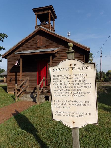 Luray Massanutten School House