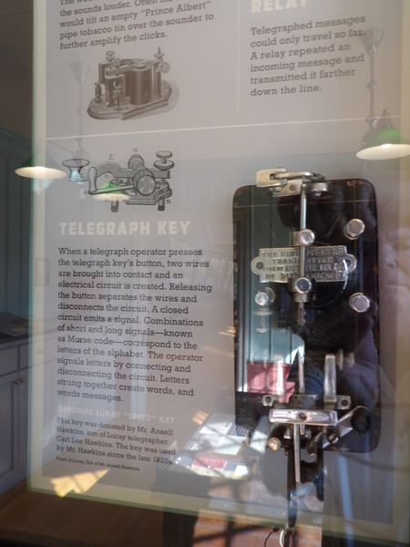 Luray Railroad Museum Telegraph
