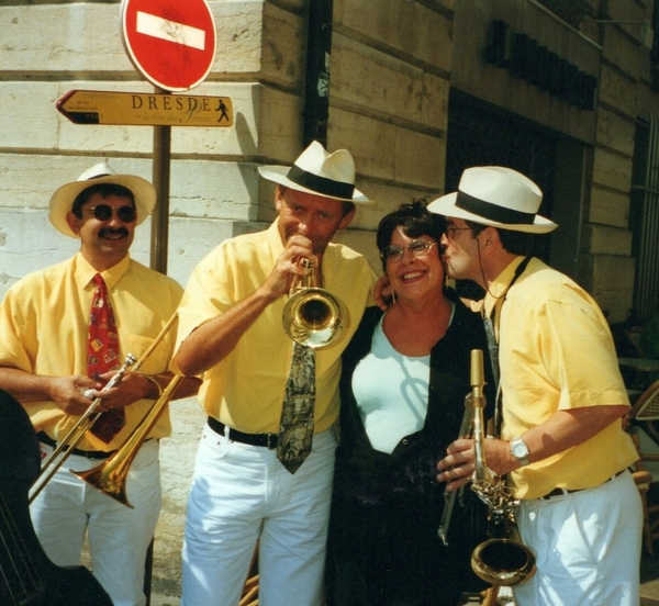Diane with Dijon Revelers