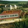 sainte sabine signage